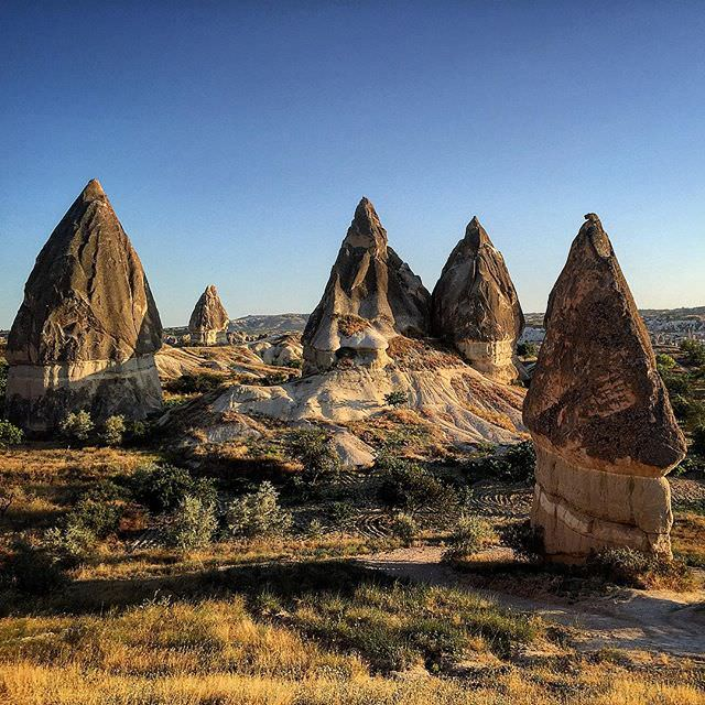 #natural #formations in #capadokya #Cappadocia #turkey #turkiye #breathtaking #view